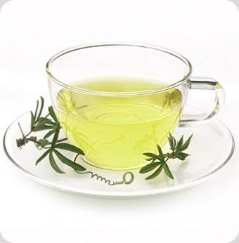 зеленый чай от синяков под глазами