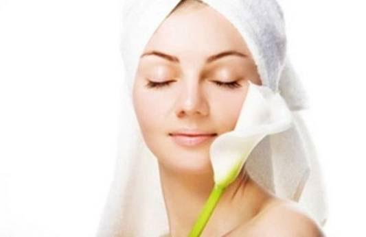 здоровая ровная кожа лица