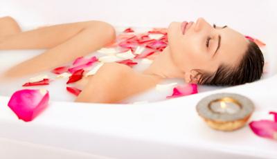 ванна с аромомаслами