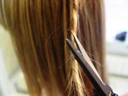Скручивание волос в жгут