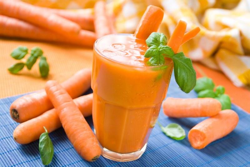 Морковь, богатая бета-каротином