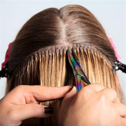 Наращивание причина потери волос