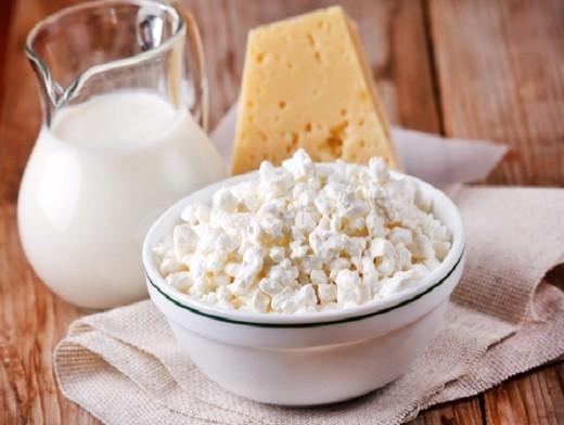 Сыр, творог и молоко