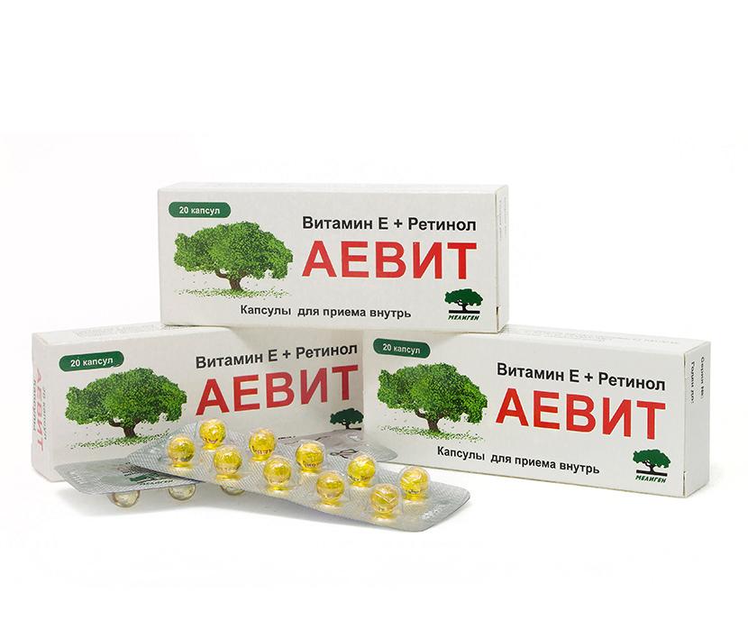 Витамины А и Е для тусклых и ломких волос
