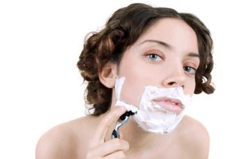 Волосы на подбородке у девушек как избавиться