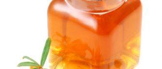 облепиховое масло при насморке